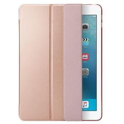 Spigen smart fold etui smart cover z podstawką ipad 9.7 2018 / 9.7 2017 różowy (rose gold) (8809565307201)