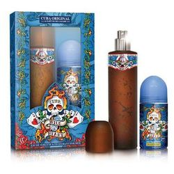 Cuba Wild Heart Must Have zestaw woda toaletowa spray 100ml + dezodorant sztyft 50ml (5425017736936)